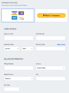 dreamhost payment options