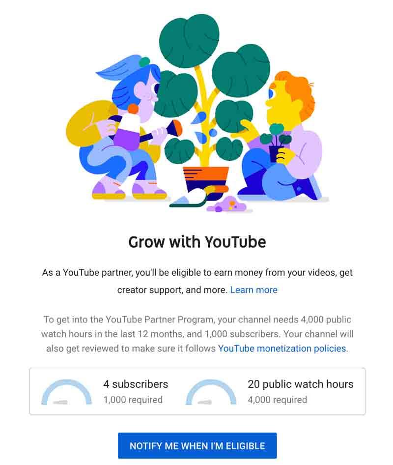 How to make money on YouTube - join YouTube Partner Program