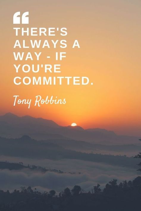 There's always a way - if you're committed.jpg.