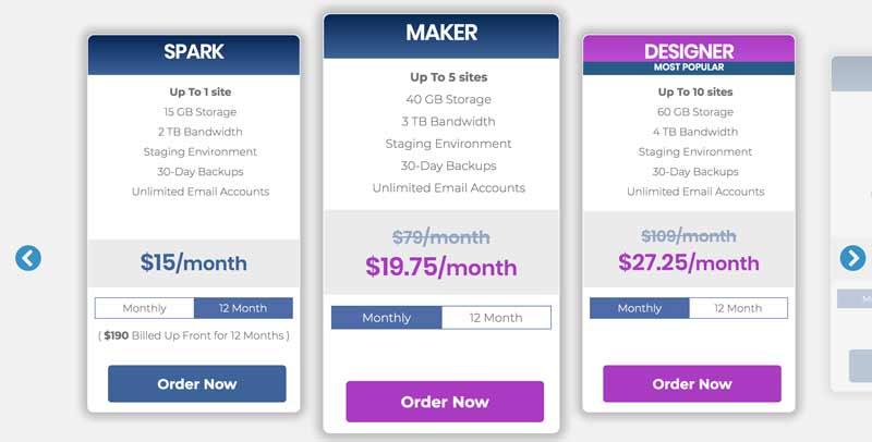 Nexcess hosting pricing