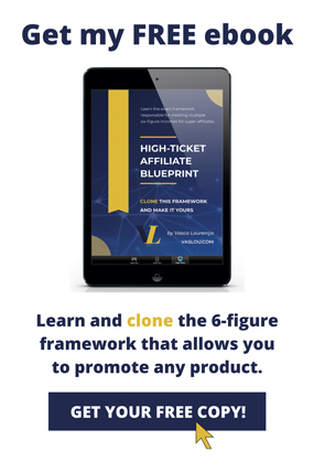 High-Ticket Affiliate Blueprint FREE ebook
