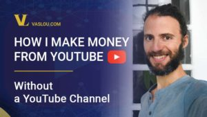 How I make money from YouTube without a YouTube channel