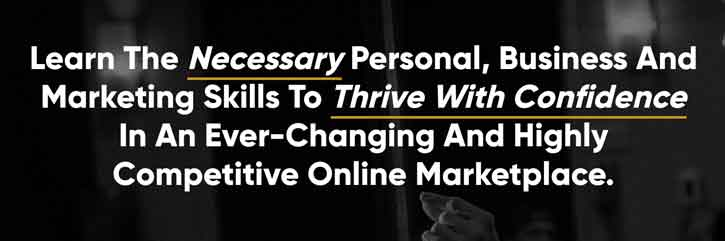 Legendary Marketer Products - Learn the necessary personal, business and marketing skills to thrive with confidence in an ever-changing and highly competitive online marketplace