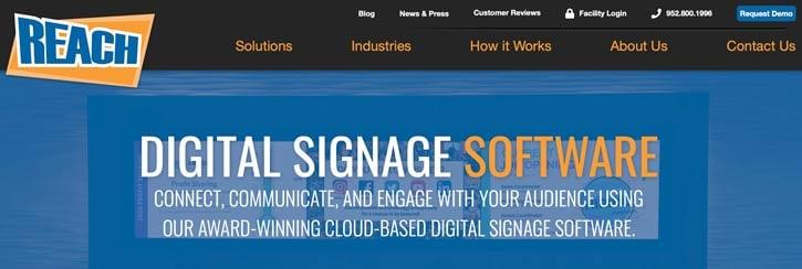 Reach Digital Signage Software
