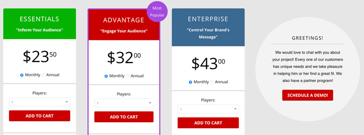 SmartSign2go Pricing