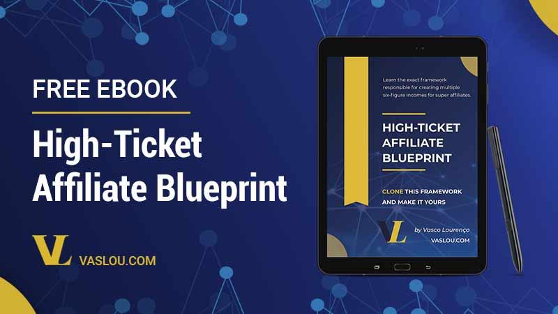 Free ebook High Ticket Affiliate Blueprint