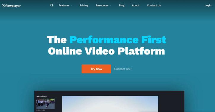 Flowplayer online video platform