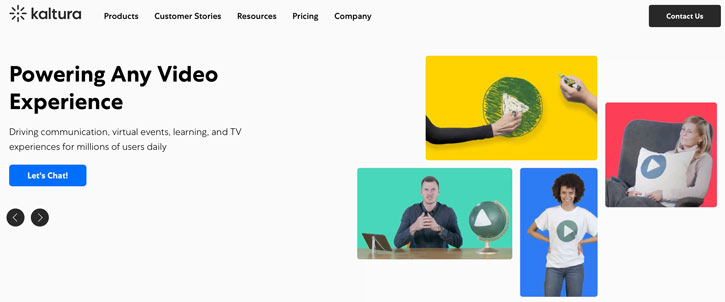 Kaltura online video platform