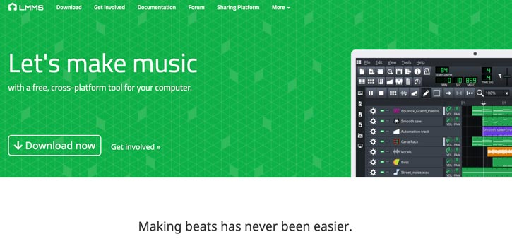 LMMS Free Music Production Software