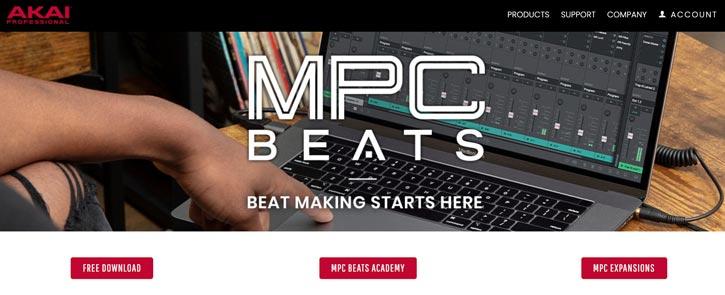 MPC Beats Music Production Software