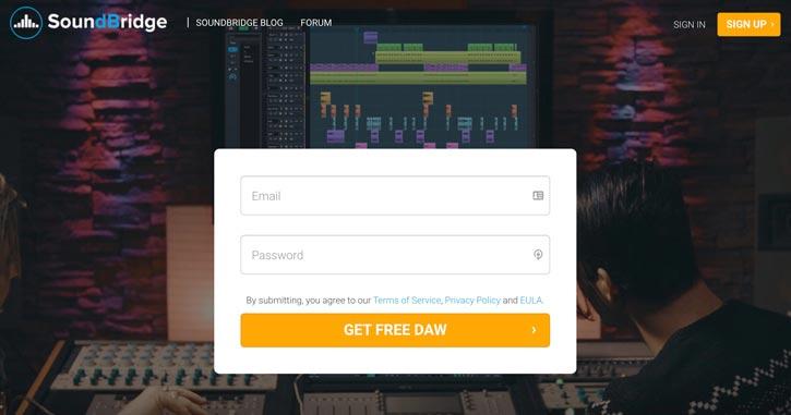 SoundBridge Free Music Production Software
