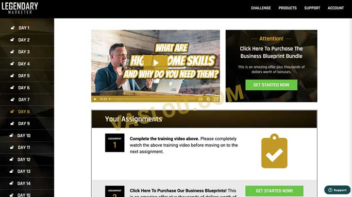 Legendary Marketer 15 Day Challenge Day 8